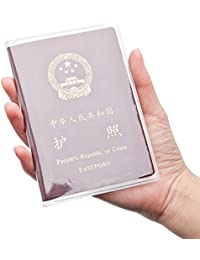 10PCS Passport Cover Plastic ID Card Protector Case