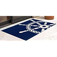 Liora Manne FT012A34933 Whimsy Skipper Rug, Indoor/Outdoor, Scatter Size, Navy