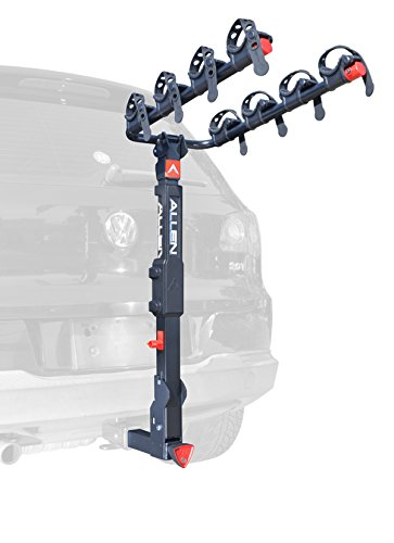 Allen Sports Premier Locking Quick Release 4-Bike Carrier for 2 in. Hitch