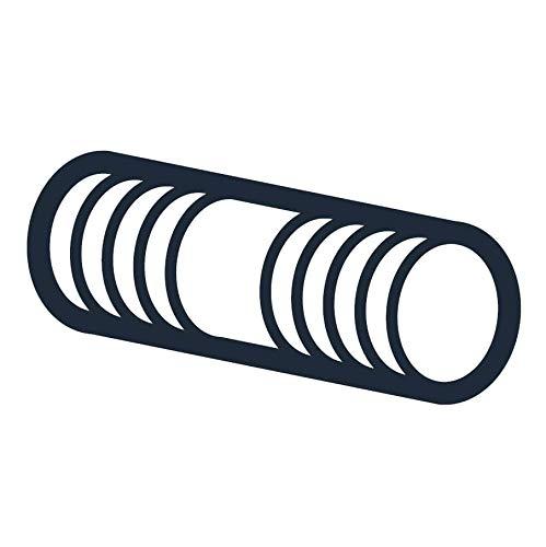 2 Feet Long 2-4-1//2 Thread Size Low-Strength Steel Threaded Rod