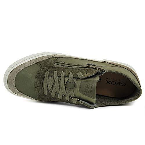 Hombre Verde C0152 Para U C Geox military Kaven sand Zapatillas wapRZFq
