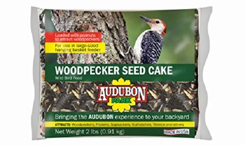 (Audobon Park 2 lb Woodpecker Wild Bird Seed Cake - Quantity 8)