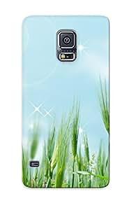 Premium Tpu Wheat Field Cover Skin Series For Galaxy S5