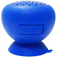 AudioBomb 79767 Squish Water-Resistant Bluetooth Shower Speaker Rechargeable & Portable The Perfect Gift, Blue