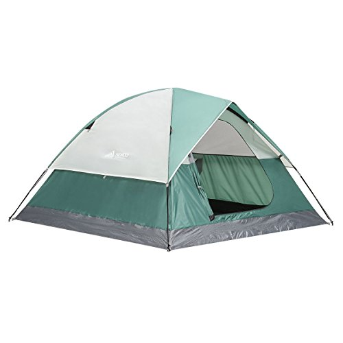 SEMOO-Large-Door-3-Person-3-Season-Lightweight-Water-Resistant-Family-Camping-Tent-with-Carry-Bag