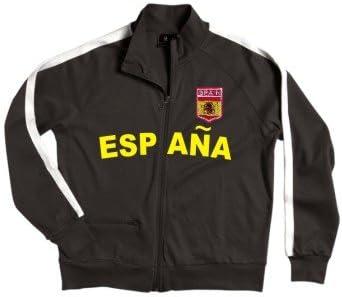 Shirtwerk España/Espana Zip Chaqueta con Escudo Bordado (Tallas S ...