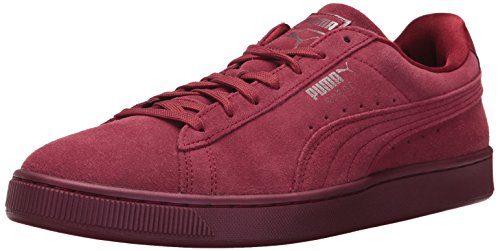 PUMA Men's Suede Classic Anodized Sneaker, Tibetan Red-Tibetan Red, 13 M US (Puma All Red Shoes)
