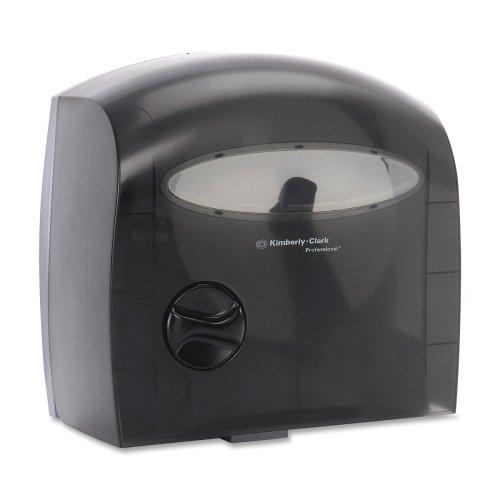 Wholesale CASE of 5 - Kimberly-Clark Coreless Touchless Tissue Dispenser-Electronic Touchless Coreless Dispenser, Smoke by KIM