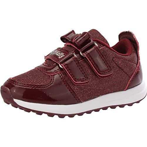 Lelli Kelly Colorissima Sneaker Bordeaux Patent 10 M US Infant