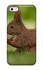 Fashion Protective 2014 Sweet Squirrel Pictures Case Cover For Iphone 5/5s