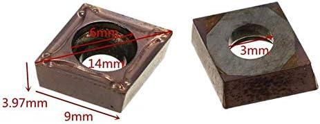 LKK-KK SCLCR1616H09 Turning Lathe Tool Holder with 10pcs CCMT09T304 VP15TF CCMT32.51 Carbide Inserts Turning Tools