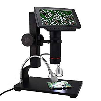 Image of Andonstar 5 inch Screen 1080P Digital Microscope HDMI Microscope for Circuit Board Repair Soldering Tool ADSM302
