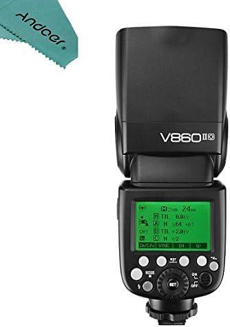 Godox Ving V860iio Ttl Li Ion Kamera Flash Speedlite Kamera