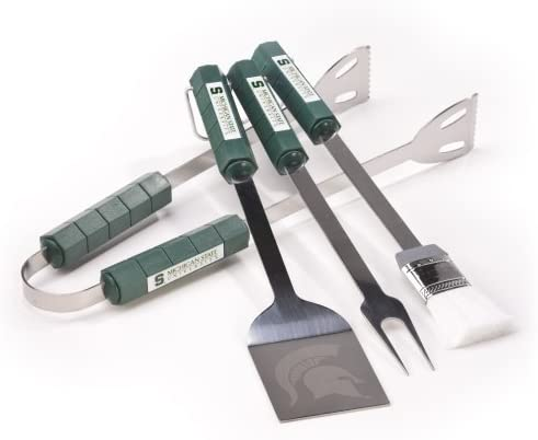 NCAA Michigan State Spartans 4 Piece Barbecue Set
