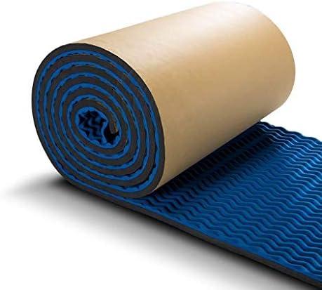 3/5平方メートルの音響泡、多目的壁屋内KTV寝室音響パネルリビングルーム家庭用レコーディングスタジオシネマ吸音綿 (Color : Blue, Size : 5M)