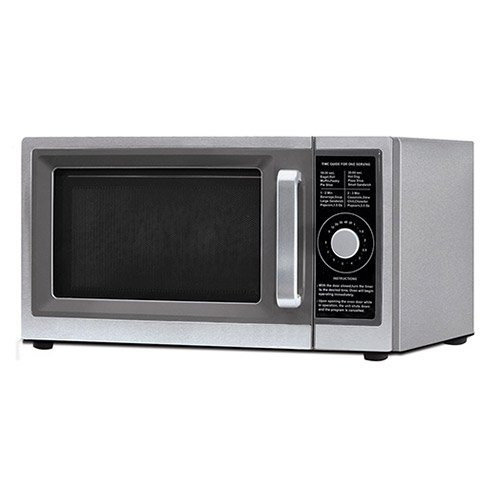Value Series Dial Timer Commercial Microwave, 120V