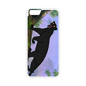 iPhone 6 4.7 Inch Cell Phone Case White The Jungle Book Character Bagheera bcd