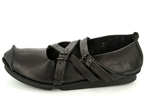 Women's Trippen Flats Ballet Travel Black adxvSdRn