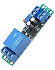 12V Slow Action Relay 0-25s Instelbare Regelmodule Timerrelais Activeren/Deactiveren Automatische Schakelmodule Met Opto-Isolerende Isolator