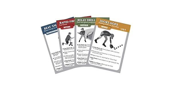 Coachdeck Baseball Training Drill Cards Trading Cards Amazon Canada