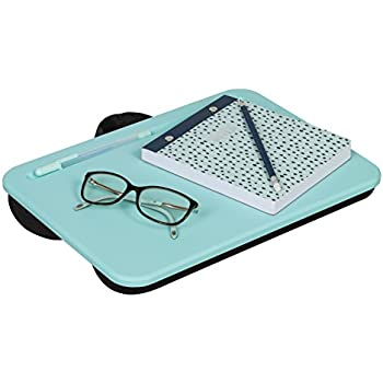 "LapGear Essential Lap Desk - Aqua Sky (Fits upto 13.3"" Laptop)"