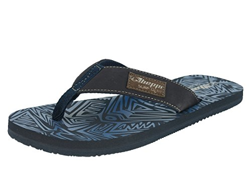 Beppi Men's Flip Flops Spreader Blue