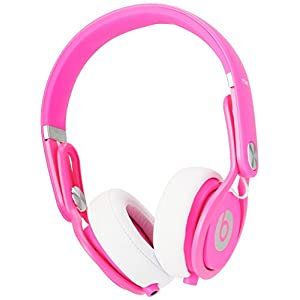 Beats by Dre Mixr On-Ear Headphone - Color Pink (Certified Refurbished)
