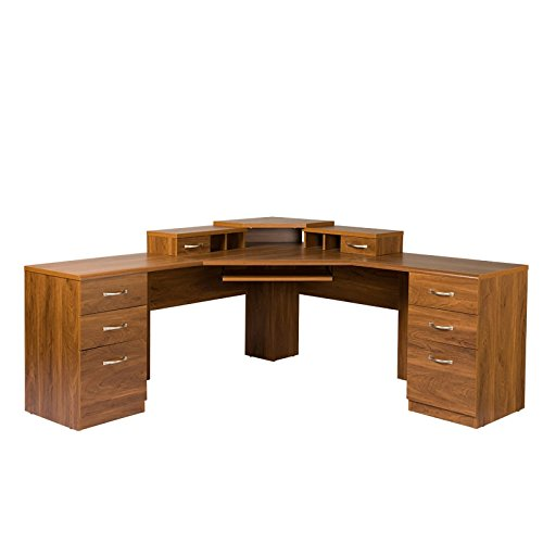 American Furniture Classics L-Work Center with Monitor ()
