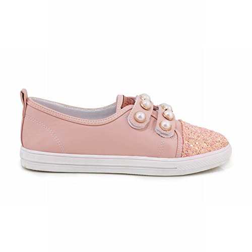 Paillettes Di Perline Latasa Da Donna Slip On Pink