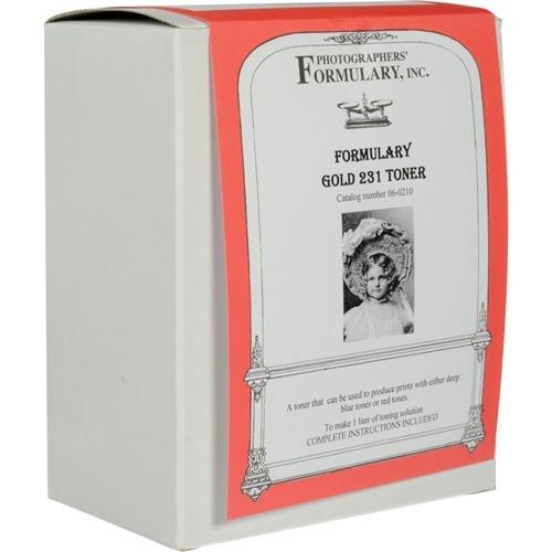 Photographers' Formulary Gold 231 Toner, Multi-Color Toner for Black & White Prints, 1 Liter by Photographers' Formulary