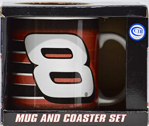 2005 - Action/Winner's Circle - Dale Earnhardt Jr #8 - Mug and Coaster Set - NASCAR - Mint - Collectible - - Dale Collectibles Earnhardt