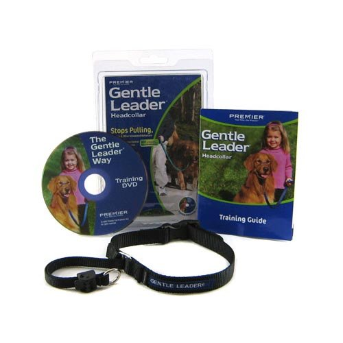 MPP Gentle Leader Head Collar Dog Training Guide Walk Anti Pull Choose Size & Color (Black, XLarge - Over 130lbs)