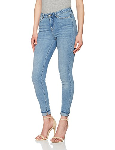 Azul Light Moda Delgados Pantalones Denim para Vaqueros Denim Blue Blue Mujer Light Vero vYnaRWTa