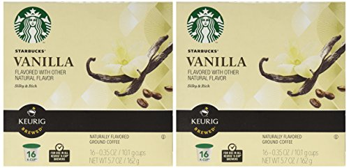 Starbucks® Vanilla Flavored K-Cup® Packs, 32-count