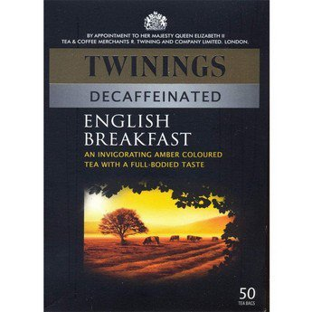 Twinings Decaffeinated English Breakfast 50 Btl. 125G