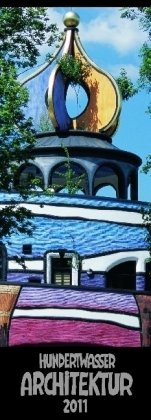 Hundertwasser Streifenkalender Architektur 2011: 3-Monats-Kalendarium