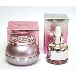 [BERGAMO]Pure Snail Wrinkle Care Cream 50g & The Luxury Skin Science Pure Snail Whitening Ampoule 30ml / Korean Cosmetics