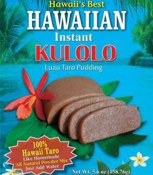 Kauai Tropical Syrup Hawaiian Instant Kulolo Luau Taro Pudding, 5.6 Ounce