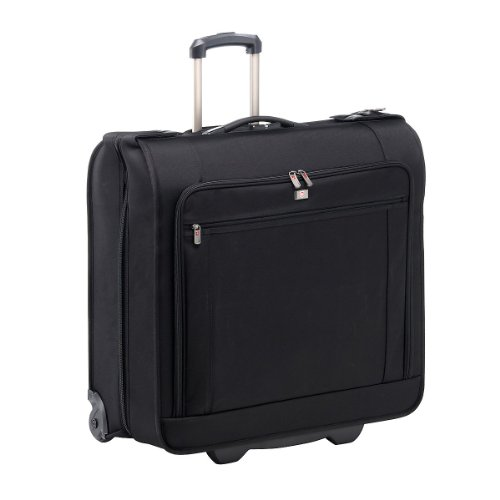 Victorinox Luggage Nxt 5.0 Deluxe Wheeled Garment Bag, Black, One Size, Bags Central