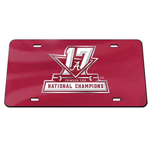 National Champions Inlaid License Plate ()