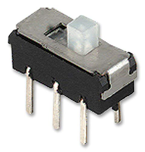 MMP 221 - Slide Switch, SPDT, Vertical, Through Hole, 300 mA RoHS Compliant: Yes (Pack of 20) (MMP 221) by KNITTER-SWITCH