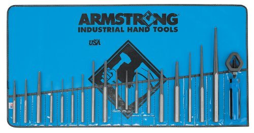 Armstrong 70-550 Punch Set, 19-Piece by Apex Tool Group