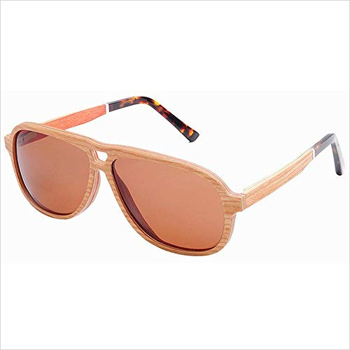 JWI Sunglasses Multi-Layer Wooden Skin Sunglasses Pure Handmade Pressure Plate Glasses