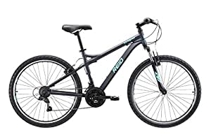 REID Girl's M Eclipse WSD Mountain Bike - Black/Aqua, 130 x 40 x 20