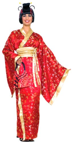 [Madame Butterfly Costume - Plus Size - Dress Size 16-22] (Lady Reaper Adult Plus Size Costumes)