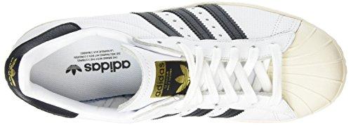 Sportive Running 80s Superstar adidas Scarpe Black White Uomo Black ZqtFZX5x