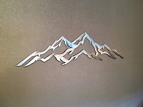 Aspen Mountain metal wall art by Bear Mountain Metal Art (Image #2)