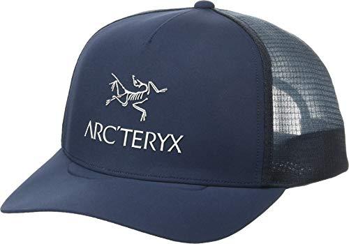 (Arc'teryx Unisex Logo Trucker Hat Dark Navy One Size)