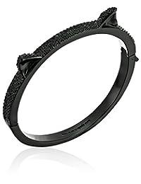 kate spade new york Pave Cat Ear Black/Multi-Colored Bangle Bracelet