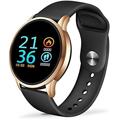 ZHLYQ Smart Wristband Smart Bracelet Ladies Sports Waterproof Fitness Tracker Heart Rate Monitoring Pedometer Estimated Price £53.98 -